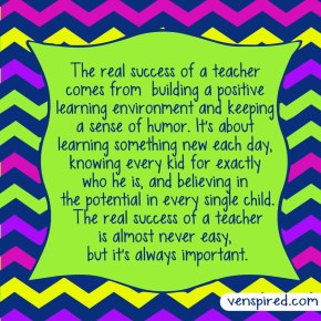 The Real Success of A Teacher
